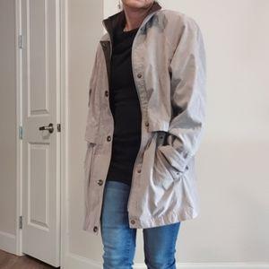 Liz Claiborne Gray Jacket/ Coat XPS/ XS / S